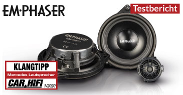 EMPHASER EM-MBF1: Test Car & HiFi 01/2020