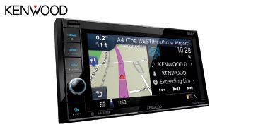 Kenwood DNR4190DABS: 2-DIN Navigationssystem