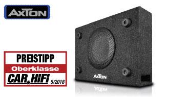 AXTON ATB120 Basskiste: Testbericht